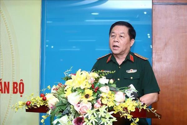 Renforcement de la direction du Parti dans la mise en œuvre des taches de defense nationale hinh anh 1
