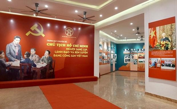 Expositions sur le PCV et le President Ho Chi Minh hinh anh 1