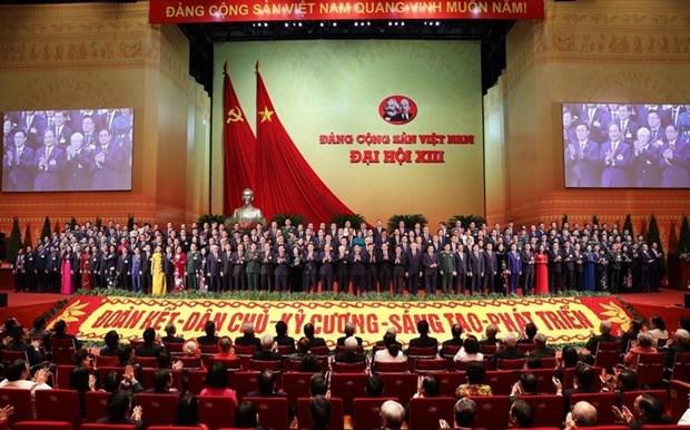 Le peuple se rejouit du succes du 13e Congres national du PCV hinh anh 1