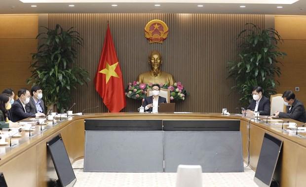 COVID-19 : le vice-PM Vu Duc Dam exige une vaccination sure et efficace hinh anh 2
