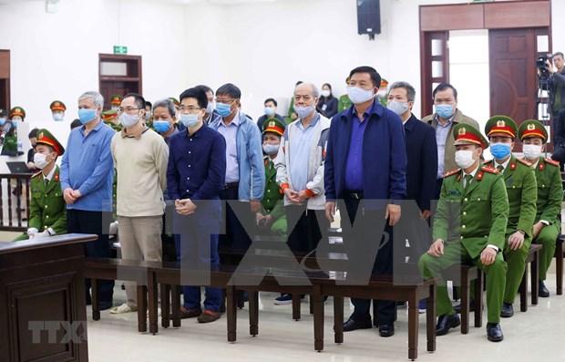 Affaire du projet Ethanol Phu Tho: Les peines de deux a 13 ans de prison proposees hinh anh 1