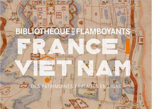 Une bibliotheque numerique retrace les interactions entre la France et le Vietnam hinh anh 1