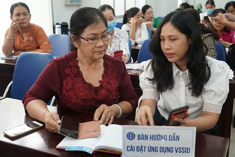Assurance sociale: Plus de 620.000 telechargements de l'application de VssID hinh anh 1