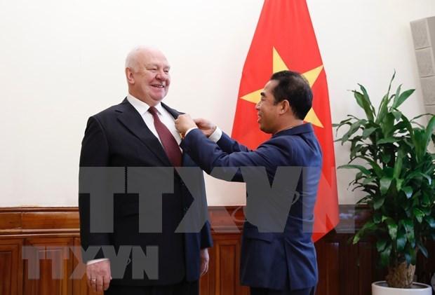 L'ancien ambassadeur russe apprecie les perspectives du partenariat Vietnam-Russie hinh anh 1