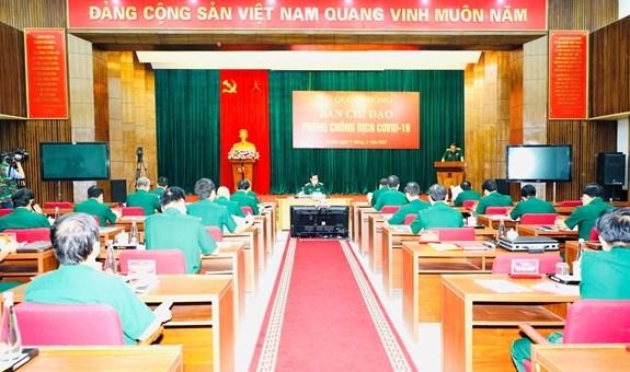 L'armee vietnamienne renforce la lutte contre le COVID-19 hinh anh 1