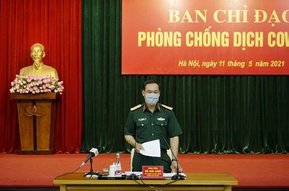 L'armee vietnamienne renforce la lutte contre le COVID-19 hinh anh 2