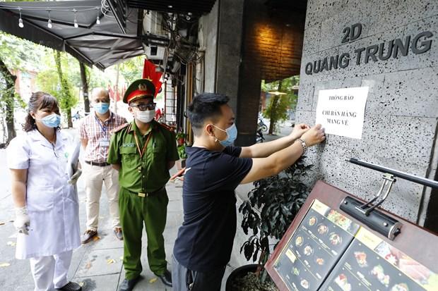 COVID-19: Hanoi met en œuvre de maniere drastique et synchrone des mesures preventives hinh anh 2