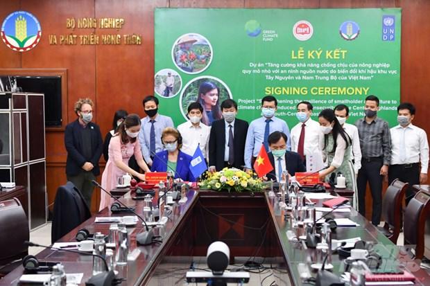 Plus de 30 millions d'USD pour aider le Vietnam a faire face au changement climatique hinh anh 2
