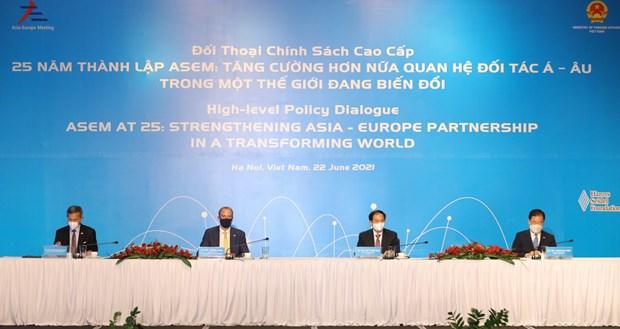 L'ASEM, un important moteur de croissance et de connectivite economique mondiale hinh anh 1