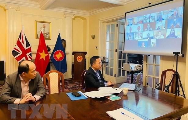 Les relations Vietnam - Royaume-Uni se developpent heureusement hinh anh 1