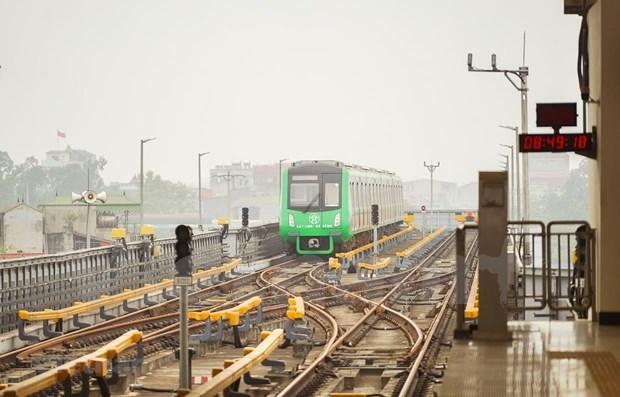 Hanoi prendra livraison de la ligne ferroviaire urbaine Cat Linh - Ha Dong hinh anh 1