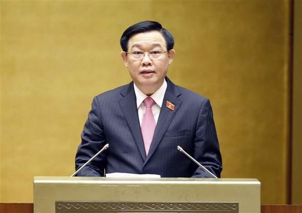 Le president de l'AN demande a mettre en œuvre des politiques en faveur des personnes meritantes hinh anh 2
