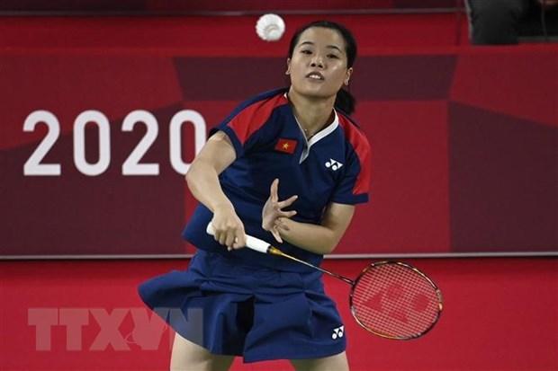 JO de Tokyo 2020 : la badiste Nguyen Thuy Linh s'arrete la malgre deux victoires hinh anh 1