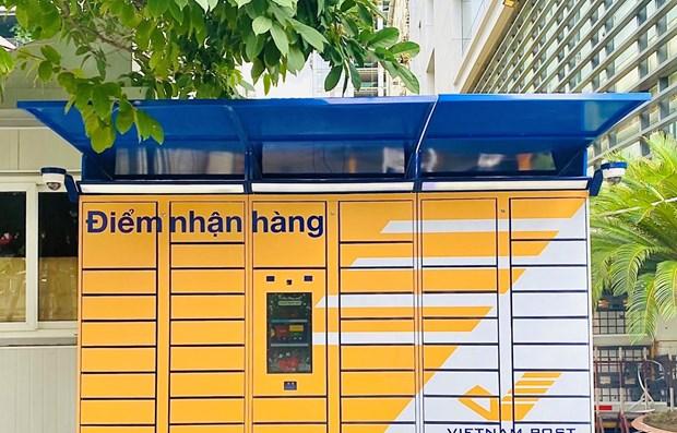 Vietnam Post pilote un service de livraison sans contact hinh anh 1