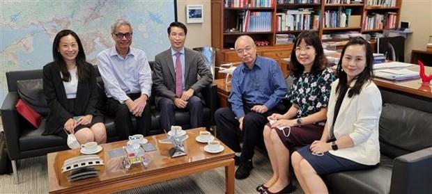 Intensification de la cooperation entre des universites vietnamiennes et hongkongaises hinh anh 1