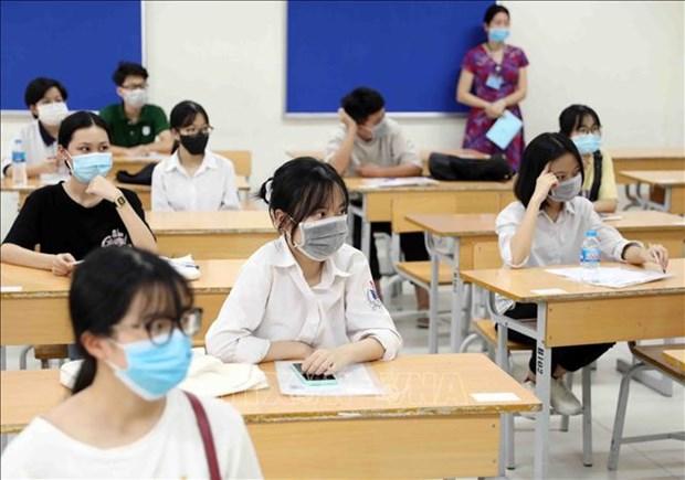 Plus de 11.000 lyceens inscrits a la deuxieme tranche de l'examen de fin d'etudes secondaires hinh anh 1