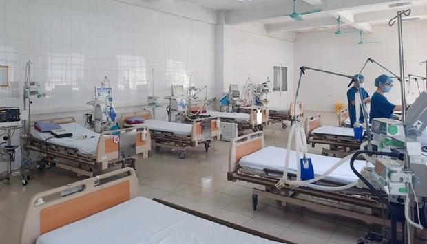 COVID-19 : Hanoi prepare 8.000 lits pour les patients presentant une forme moderee a tres grave hinh anh 1