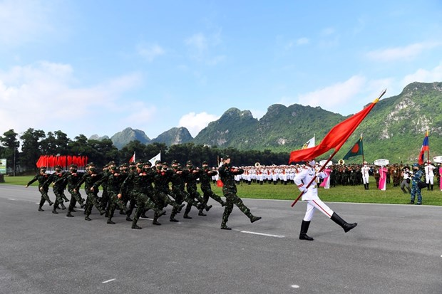 Ouverture des competitions des Army Games 2021 au Vietnam hinh anh 1