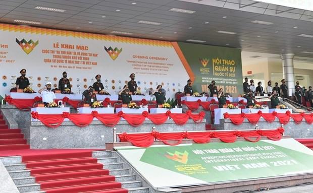 Ouverture des competitions des Army Games 2021 au Vietnam hinh anh 2