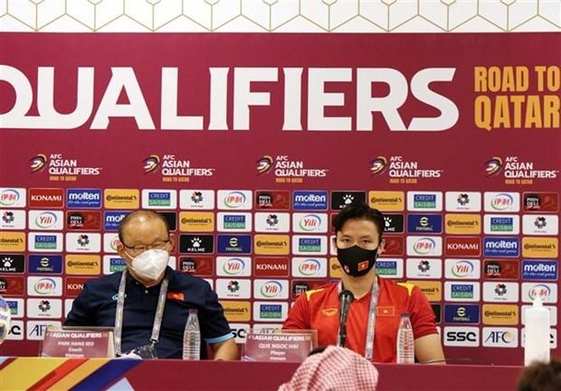 Le Vietnam confiant et determine avant son match contre l'Arabie saoudite hinh anh 1
