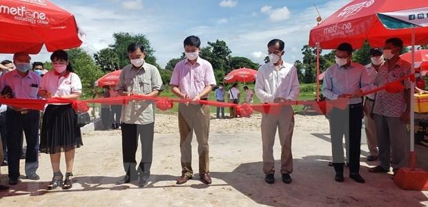 Le Vietnam finance la construction d'un pont d'amitie dans la province cambodgienne de Kampot hinh anh 1