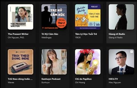 Les podcasts de plus en plus populaires au Vietnam hinh anh 1