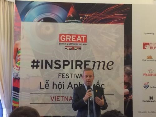 Diverses activites au Festival britannique - Inspire Me Festival 2018 hinh anh 1