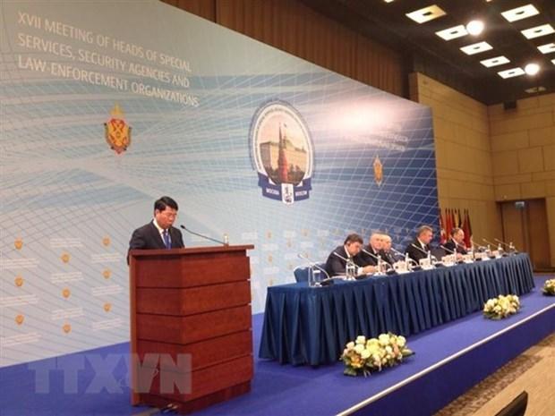 Le Vietnam a la conference des dirigeants des agences speciales en Russie hinh anh 1