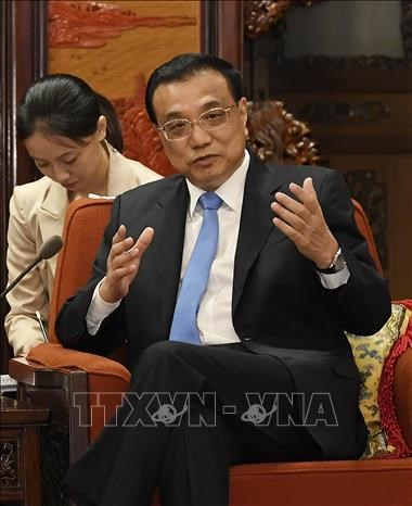 La Chine souhaite renforcer sa cooperation avec Singapour hinh anh 1