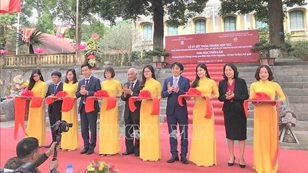 La cite imperiale de Thang Long a travers les tablettes de bois des Nguyen hinh anh 1