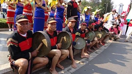 Decouverte de l'espace culturel de Dak Lak a Hanoi hinh anh 1
