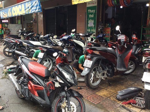 Passage du typhon USAGI: des rues de Ho Chi Minh-Ville inondees hinh anh 4