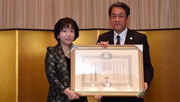 Une academicienne vietnamienne primee de l'Ordre du Soleil levant du Japon hinh anh 1