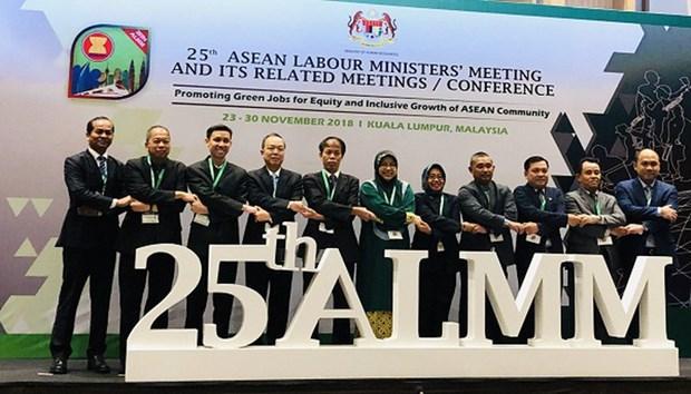 Le Vietnam participe a la 25e Conference des ministres du Travail de l'ASEAN hinh anh 1