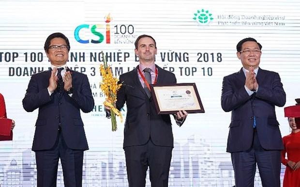 Entreprise la plus durable: Heineken Vietnam honoree pour la deuxieme annee consecutive hinh anh 1