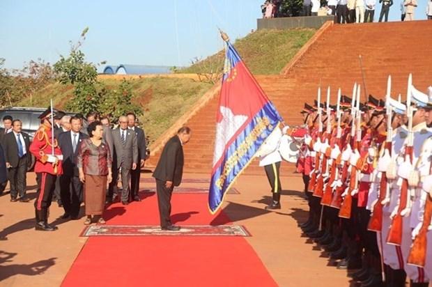 Cambodge : celebration du 40e anniversaire de la fondation du Front hinh anh 1