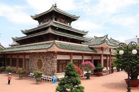 Le sanctuaire de Ba Chua Xu, une destination spirituelle attrayante a An Giang hinh anh 1