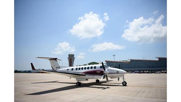 L'aeroport prive de Van Don accueillera le premier vol commercial le 30 decembre 2018 hinh anh 1