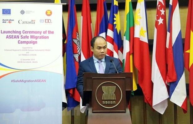 L'ASEAN prete attention aux interets des travailleurs migrants hinh anh 1