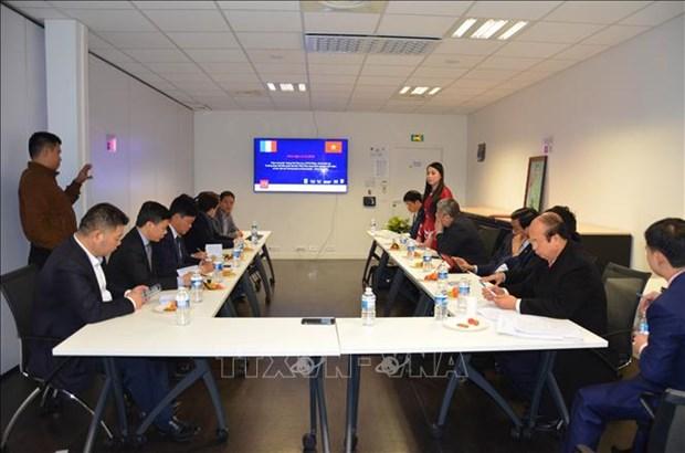 Le Vietnam cherche des opportunites de cooperation et d'investissement en France hinh anh 1