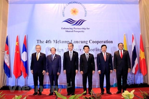 Mekong-Lancang : Les ministres des AE soutiennent une economie mondiale ouverte hinh anh 1