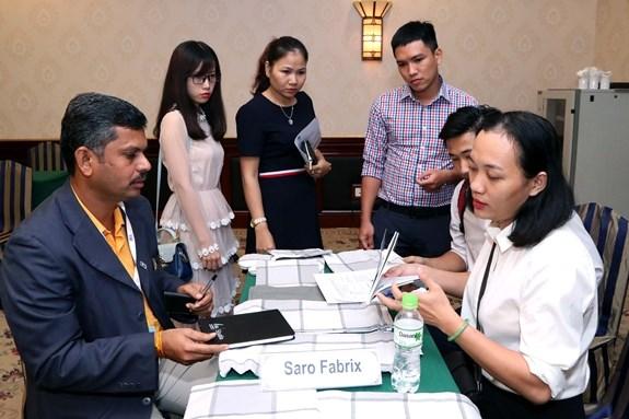 Textile: de belles perspectives de cooperation Vietnam-Inde hinh anh 1