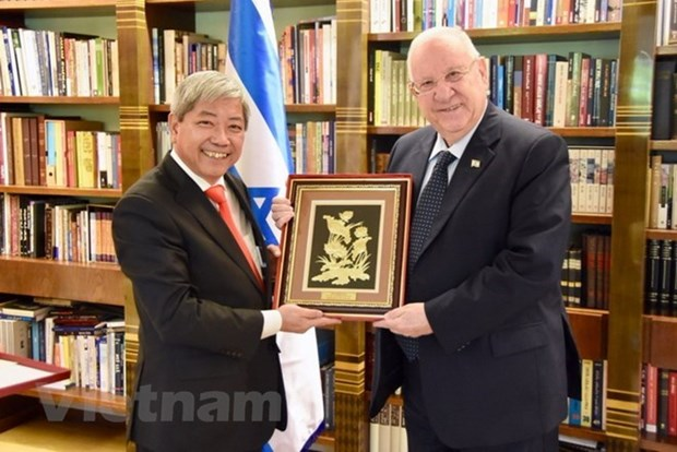 Israel attache beaucoup d'importance au developpement des relations avec le Vietnam hinh anh 1