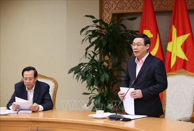 Le vice-PM Vuong Dinh Hue: acceleration de l'edification de la Nouvelle ruralite hinh anh 1