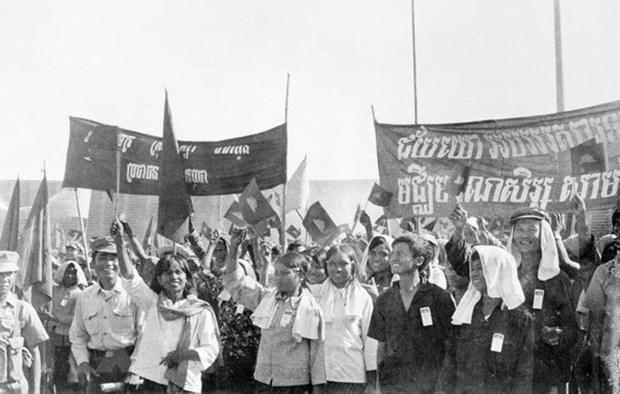 Felicitations au Comite central du Parti du peuple cambodgien hinh anh 1