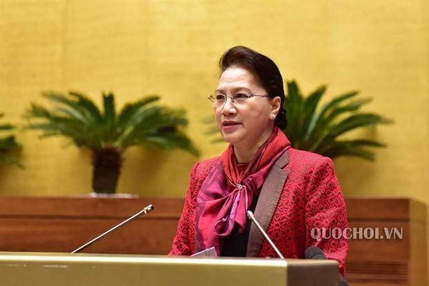 La presidente de l'AN demande au Bureau parlementaire d'ameliorer le travail legislatif hinh anh 1