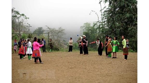 Les H'mong de Son La accueillent avec joie leur Tet traditionnel hinh anh 1