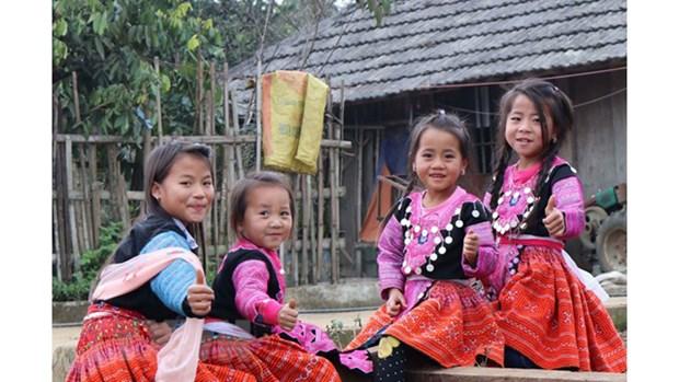Les H'mong de Son La accueillent avec joie leur Tet traditionnel hinh anh 2