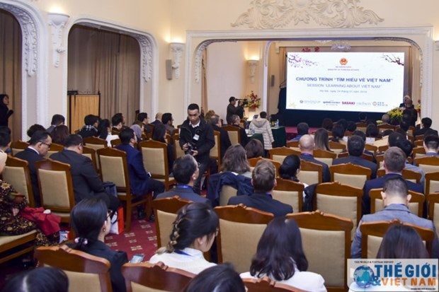 Journee d'exploration sur le Vietnam 2019: Promouvoir l'amitie et la cooperation avec d'autres pays hinh anh 1