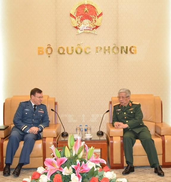 Promotion des relations en matiere de defense entre le Vietnam et le Canada hinh anh 1